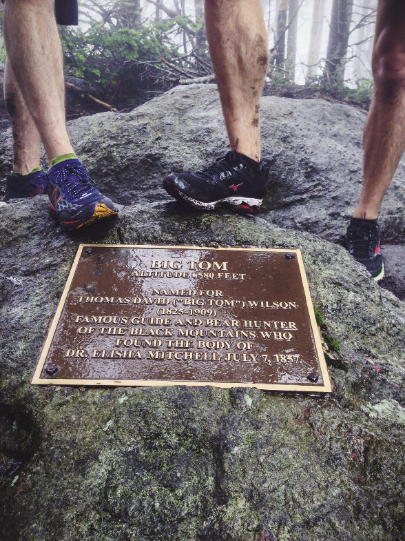 Reaching 6,580 feet, Big Tom Peak is named for Thomas Wilson, a famed guide and hunter noted for finding the body of Dr. Elisha Mitchell, Mt. Mitchell's namesake, in 1857.