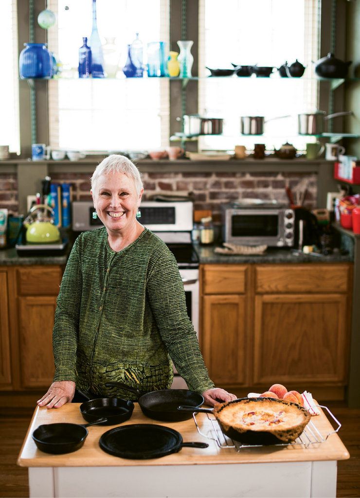 Ronni Lundy in her Burnsville home