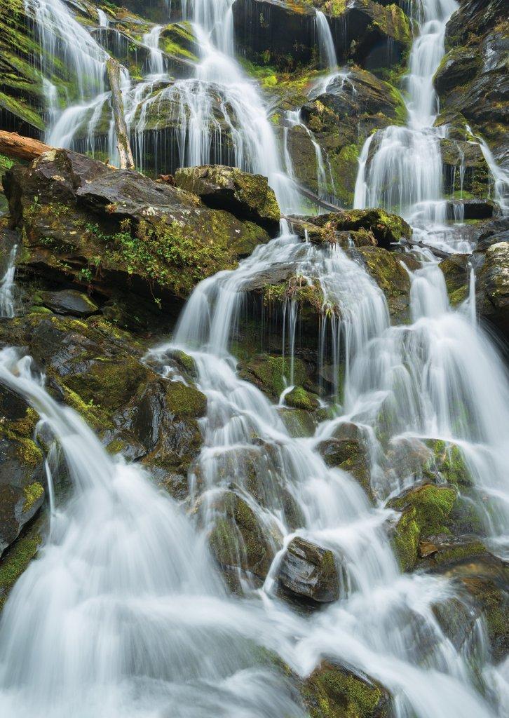 Catawba Falls in McDowell County.