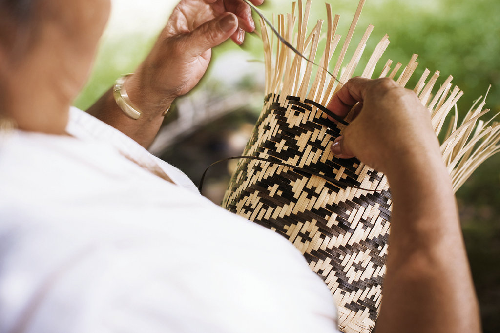 In 2000, only a few tribe members knew the art of double-weave basket making. That's changed, thanks to classes funded by the Cherokee Preservation Foundation, now led by Director Annette Clapsaddle