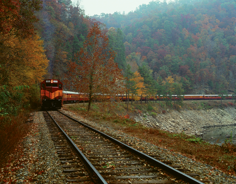 Great Smoky Mountains Railroad. Photo courtesy of Great Smoky Mountains Railroad