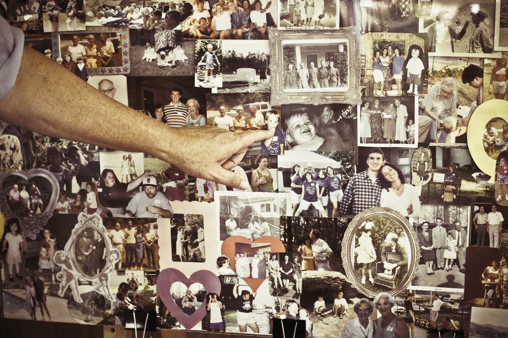 A photo collage illustrates the Siler family story.