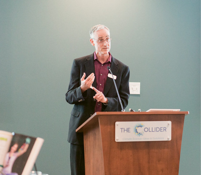 James McMahon, CEO of The Collider, welcomed attendees.