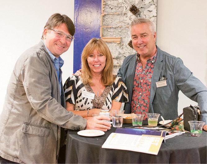 Steve Busey, Sharon Trammel, and Rick Ramsey