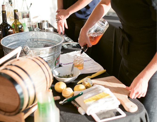 Cordial & Craft served creative fall concoctions.