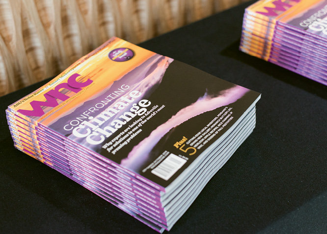 The Issue Release Party celebrated all who contributed to the September-October edition.