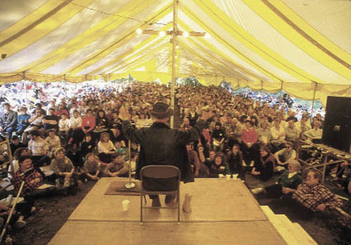 """Hicks appreciated his  audience as much as they appreciated him. """"To be with the people, I can feel it in my soul; more spirit there than I have ever felt in any church,"""" he said"""