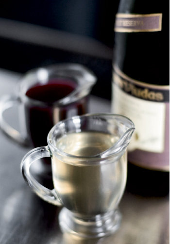 The Ginger Royal is a quick and easy recipe that gives sparkling wine a fruity punch.