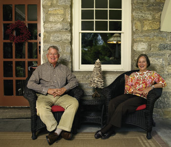 Mac and Veronica have called Stone Cottage home for 35 years.
