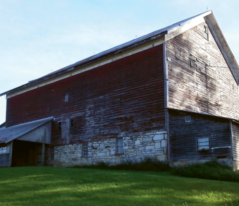 The original barn