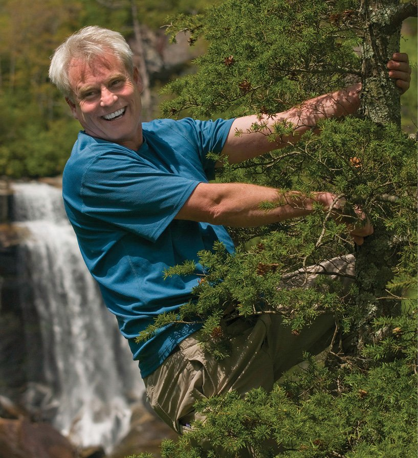 Wet & Wild - Photographer Kevin Adams joined fellow enthusiasts in launching Waterfall Keepers of North Carolina.