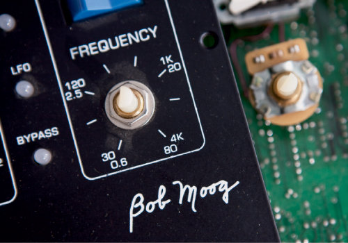 every Moog instrument bears its creator's name