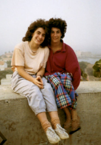she visited and later lived in Senegal, where her sister, Rénee (right), served in the Peace Corps