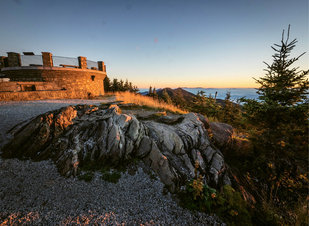Mount Mitchell. Photo courtesy of NC Division of Parks and Recreation