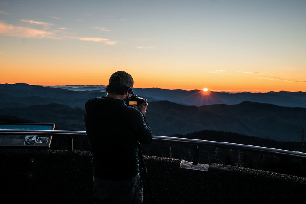 Clingman's Dome. Photograph courtesy of Shutterstock/Jason Sponseller