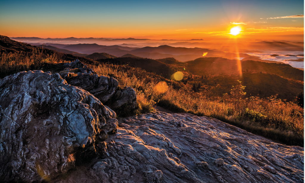 Black Balsam Knob. Photo courtesy of Shutterstock/Anthony Heflin