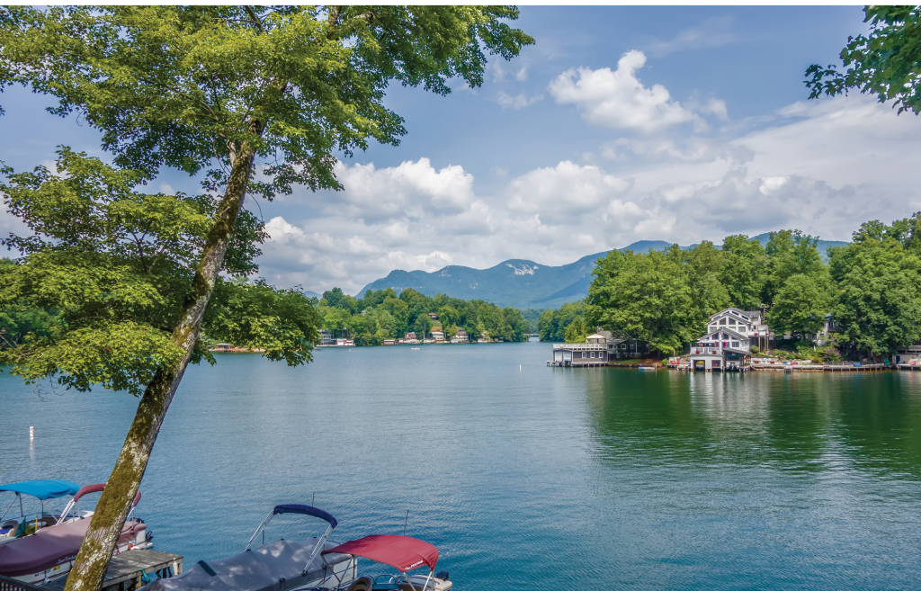 Water sports galore are in store on Lake Lure.