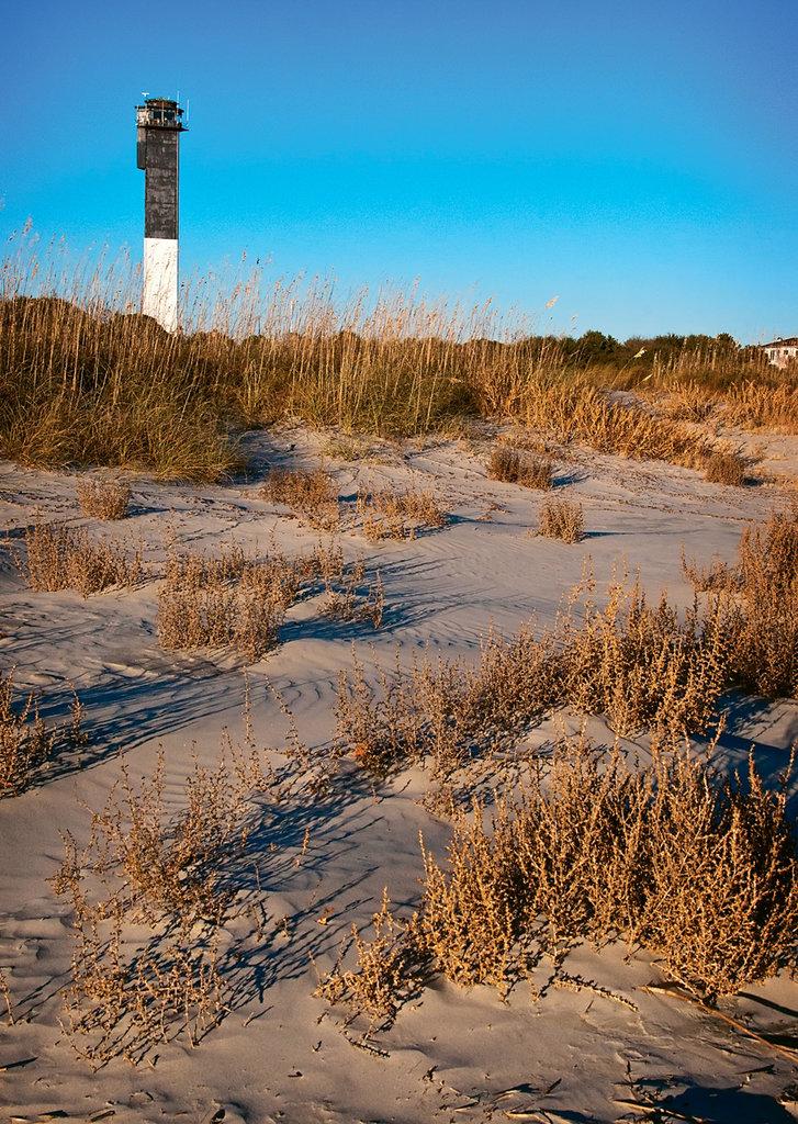 Sullivan's Island lighthouse.
