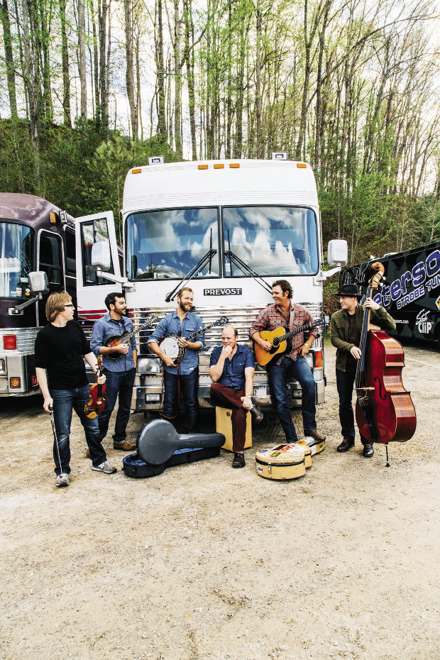 Pete Wernick, Jens Kruger, and Bryan Sutton, as well as Grammy-winning WNC group the Steep Canyon Rangers