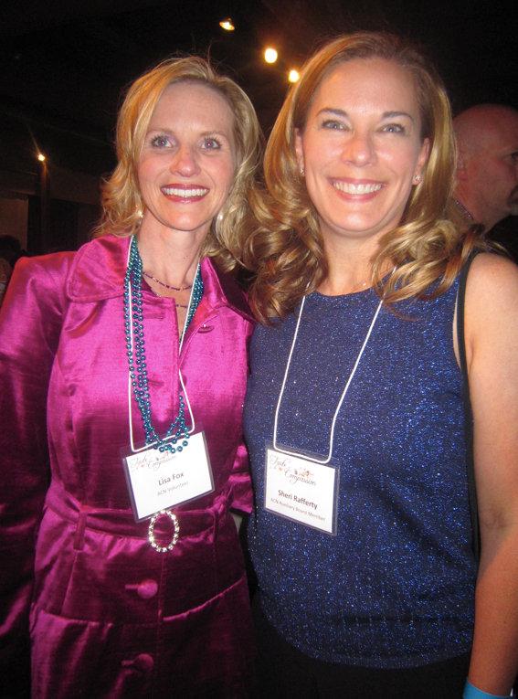 ACN board members Lisa Fox and Sheari Rafferty