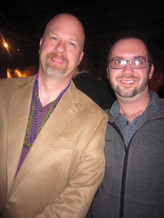 Michael Hoffman with WNC Magazine's Chris Bubenik