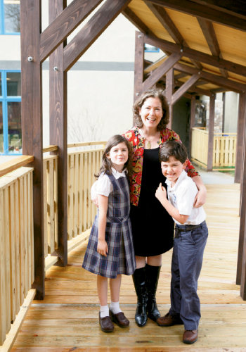 Caroline Long founded St. Gerard House to educate children like her son and daughter, Liam and Mary Bridget, who have autism. When ready, students are given the opportunity to attend mainstream classes at Immaculata Catholic School.